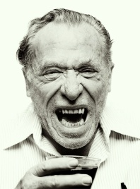 Charles Bukowski, c.1981, photo by Mark Hanauer
